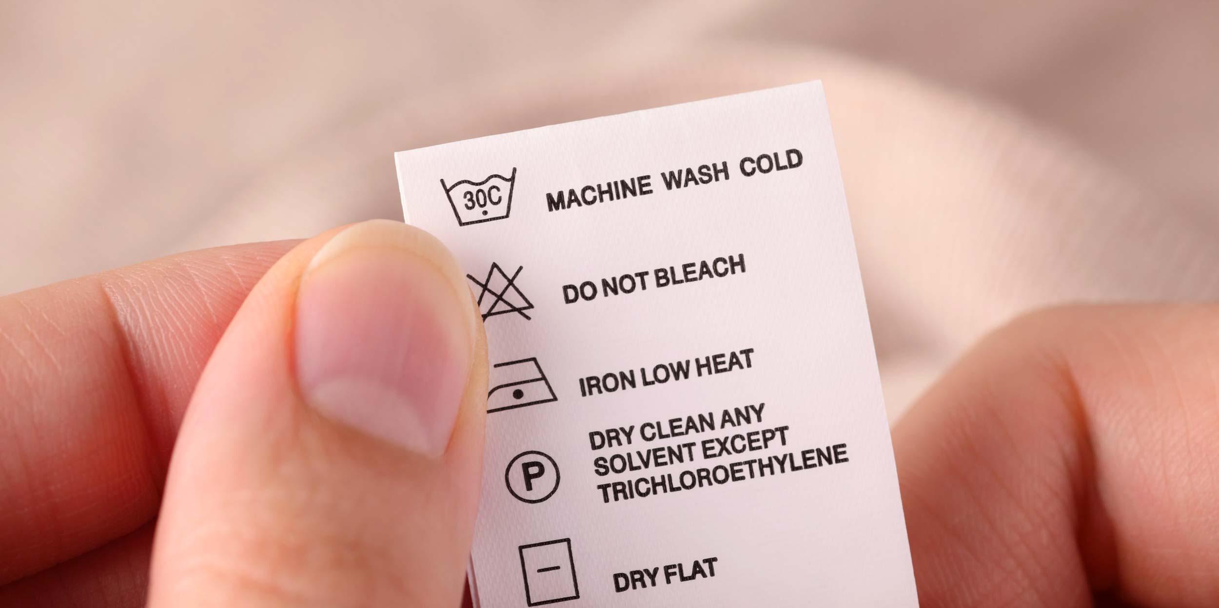 Una Guida Completa Ai Simboli Lavaggio Fixer Assistenza